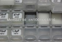Wholesale- AideTek SMD 0402 Engineering Kit Capacitor de Muestra 75 Valores X 50pcs BOX-ALL .5p 1uF X7R