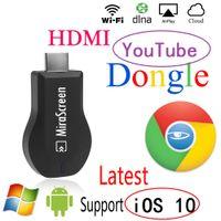 Wholesale IOS Mirascreen OTA TV Adapter Dongle DLNA Miracast AirPlay Google Chromecast TV Stick Wireless Wifi HDMI p Display Receiver