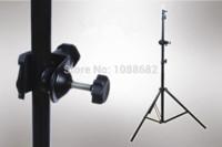 Metal U Support de serrage de type avec la tête de balle mini pour l'éclairage de caméra Support de lampe de bras de flèche Accessoires de studio de photo