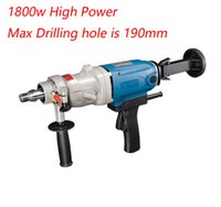 Wholesale 190mm Diamond Drill With Water Source hand held w Concrete Core Drill Speed Diamond Core Drill Electric Drill