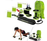 Wholesale 2016 New Multifunction Waist Equipment home fitness ab roller Revoflex Xtreme Abdominal Resistance Exerciser abdominal Abdominal Resistance
