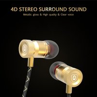 band microphone - In Ear Headphones X5 Special Edition Metal Headphone Unit Mobile Music Tri band Equalization Artifact with Microphone via DHL