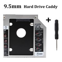Venta al por mayor- Nuevo Laptop Universal 2.5 HDD Enclosuer SATA a SATA 2do HDD Caddy SSD HD Disco duro Hard Drive CD DVD-ROM Optical Bay