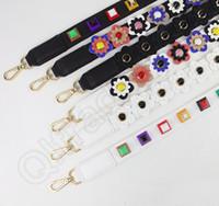 band shoulder bags - Strap You Shoulder Bag Strap Leather Flower Bag Strap Belt Long Handbag Band Replacement Strap for Handbag OOA917