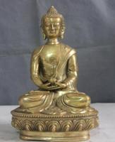 amitayus buddha - Tibet temple copper brass Sakyamuni Tathagata Shakyamuni Amitayus Buddha Statue
