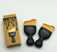 Kylie wave brush bb cups - Kylie Jenner makeup brush cosmetic foundation BB CC cream Powder make up brushes Tools set Kylie Jenner wine glass cup shape waved brush
