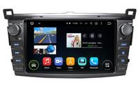 Toyota auto phone recorder - Android octa core core HD car dvd player for Toyota RAV4 gps radio auto g tape recorder head units