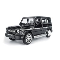 auto model scale - AMG G65 Diecast Metal Car Toys Scale Pull Back Simulation Alloy Cars Acousto optic Auto Model Collection Cars Oyuncak