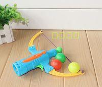 Wholesale Arrow Table Tennis gun bow archery shooting boy toy children gift Flying Disk