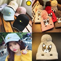 bamboo garden design - New brand winter cute fasion design hats caps for women retail cartoon top quality