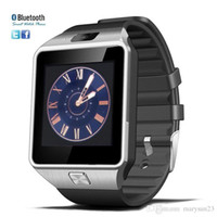 Wholesale DZ09 Smart Watch smartwatch smart watch phone with bluetooth SIM card camera remote camera inch touch screen