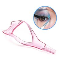 Wholesale New Arrival Make up Mascara Guide Applicator Eyelash Comb Eyebrow Brush Curler Tool Drop Shipping