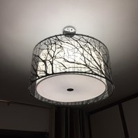 Wholesale Chinese Black Transparent Acrylic Tree Branch Dining room Ceiling Pendant Lamp Restaurant Chandeliers Study Room Bedroom Pendant Lightings