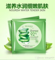aloe shop - NEW Skin Care Natural Aloe Vera Gel Facial Mask Moisturizing Oil Control Shrink Pores Brightening Hyaluronic acid Facial Mask Free shopping
