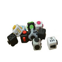 Wholesale Fidget cube stress cube fidget toy Boredom all at your finger anti irritability magnetic balls anti stress cube