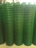 Wholesale Manufacture Stainless Steel Welded Wire Mesh Rolls Green PVC Coated Wire Mesh Fence High Quality Construction Mesh