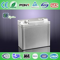 Wholesale GBS LIFEPO4 Battery V20AH for electric bicycle tool mower etc with connector with aluminum case