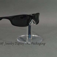 acrylic sunglass display - Professional Black Acrylic Men Sunglass Display Stand Shelf Eyeglasses Showcase Rack Jewelry Holder Glasses Display Props