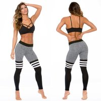 Wholesale 2016 SportsTights Running Women Yoga Legging Slim Jeggings Gym High Elasticity Pant Vetement Femals Fitness Running Wear