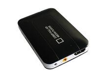 Wholesale K5 Car HDD Media player MINI Full HD P USB SD MMC support MKV DVD MPEG Player AV HDMI output Free Car adapter