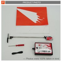 Wholesale Latest design Power Up Electric Paper Plane Airplane Conversion kit Fashion Educational Toys Great Gift