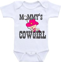 baby girl babyshower - Baby shower gift baby clothing Mommy s Cowgirl Baby Shirt Western Onesie Rodeo baby wear for baby girl babyshower gift Baby Infant Cowgirl