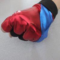 Wholesale pc The Dark Knight Suicide Squad Harley Quinn Joker Cosplay Gloves Glove Costumes Gants Partie Film Party Chirsmas Supplies
