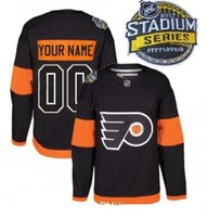 Wholesale Custom Stadium Series Philadelphia Flyers Hockey Jersey Personalized Flyers Jerseys Any Name and number M XXXL All Stitched Customized