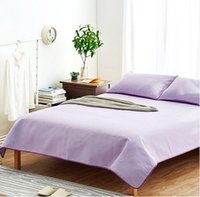 Wholesale Summer sleeping mat Old Coarse Cloth hand woven cotton Bedding article Suite Pink and purple Solid color Improve sleep