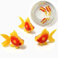 Wholesale Plastic Swimming Home Decoration Fish Gold Fishes Tank Home Aquarium Decoration Fish Tank Ornament Decor Kids Fishing Toys