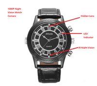 Wholesale IR Night Vision Watch Spy Camera P Full HD Wrist Watch Hidden Camera DVR Video Recorder Wrist Spy Watch DV Camcorder