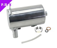Wholesale 19mm quot quot BARB ALUMINIUM OIL CATCH CAN BREATHER TANK RESERVOIR stock ready to ship
