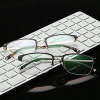 aluminum framework - The new prescription glasses frame Men and women general contracted optical framework with myopia glasses aluminum and magnesium
