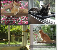 bedding large windows - New Window Mount Cat Bed Pet Hammock Sunny Seat Pet Beds With LOGO Color Box Package