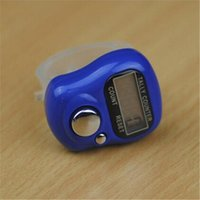 Wholesale Hot Item Cheapest Colorful Mini Digit LCD Counter Golf Finger Electronic Digital Hand Held Tally Counter B634