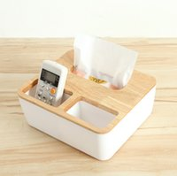 Wholesale New European style wooden box creative Home Furnishing napkin box