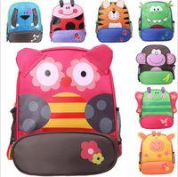 Wholesale New Arrival Children kids shoulder bags boys grils cute cartoon animals backpacks hand bags kids school bags baby kids styles