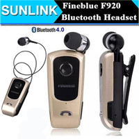 apple wireless drivers - FineBlue F920 Wireless Auriculares Driver Bluetooth Headset Calls Remind Vibration Wear Clip Sports Running Earphone for Phone