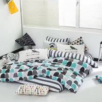 Wholesale Bedding Set Duvet Cover Fitted Sheet Pillow Case Cotton Duvet Cover Twin Queen King In Stock