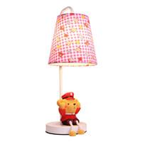 No bear knobs - Cute Fabric Baby Room Small Desk Lamp Cartoon Bear Kids Room Desk Light Children Bedroom Table Lamps