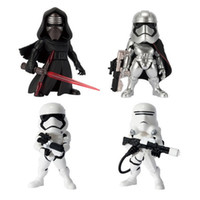 2017 Star Wars Action Figures Chevalier noir Darth Vader Stormtrooper PVC jouets poupées DHL expédition E1945