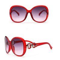 Gafas de sol clásicas para las mujeres diseñador de moda damas gafas espejo rana baratos Ssun vidrio Shades 2017 verano