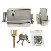 best intercom systems - Electric Lock Electronic Door Lock for Door Access Control System Video Intercom Monitor Video Door Phone Best F1663D