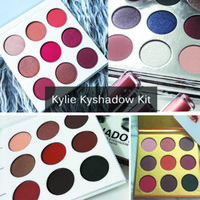 Wholesale 4 Types Kylie Jenner Kyshadow Kit Bronze Burgundy Holiday Gold Edition Eyeshadow Palette colors Eye Shadow Makeup Palettes Brand Cosmetics