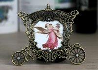 Petite Europe Mini Metal Photoe cadre classique image Cadre en alliage de zinc Metal Vintage Cadres Home Décor Frame X4633 3