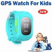 2017 Q50 GPS Tracker pour enfant Kid Smart Watch SOS Safe Appelez l'emplacement Finder Locator Trackers Smartwatch pour Enfants Enfants Anti Lost Monitor