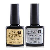 best nail varnish - Best Quality Base Top Coat ML Long lasting Soak Off Varnish Manicure Nail Gel Polish