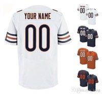 bear wear - 2016 Bears Men s Elite Custom Chicago Home Away Orange White Blue Football Jerseys Any Name Number URLACHER High Quality Stitched Wear
