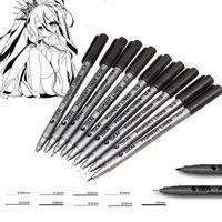 Wholesale Sta Micron Pen Assorted Nib Size Micro Line Ultra Fine Point Ink Pens Permanent Art Markers Manga Comic Sketching
