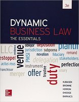Wholesale Dynamic Business Law The Essentials rd Edition